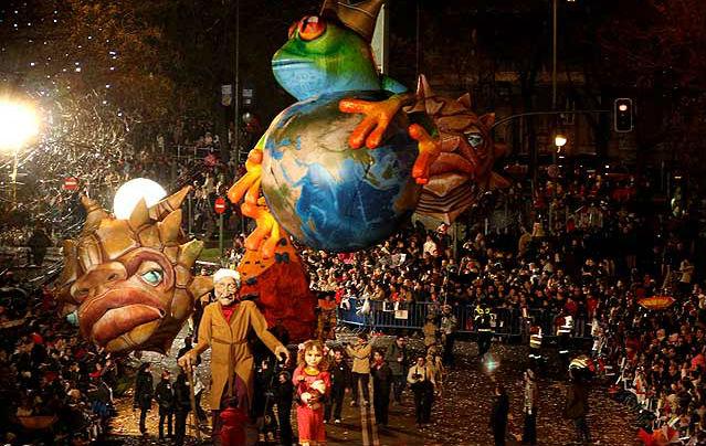 Gran Cabalgata de Reyes del Ayuntamiento de Madrid