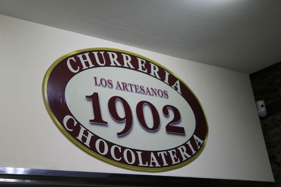 Logo de la chocolater a los artesanos 1902 de madrid - Artesanos de madrid ...