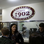 Los Artesanos 1902 es una chocolatería muy frecuentada por familias con niños
