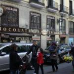 Chocolatería 'Los artesanos 1902', en Madrid