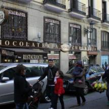 Esta chocolatería churrería está en el centro de Madrid