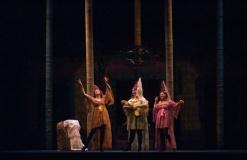 Escena de La Bella Durmiente, un Nuevo Musical