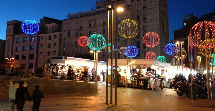 Guía de mercadillos navideños en Madrid, 2014