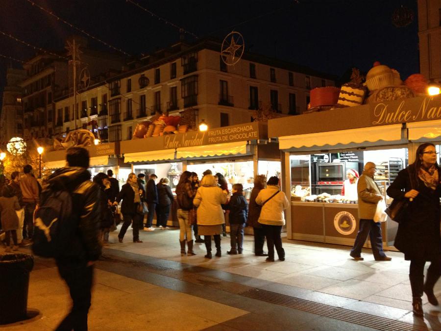 Mercadillos navideños en Madrid, 2014