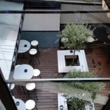 Vista de la terraza del Mercado de San Ildefonso