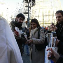 Los ensayos de las 12 campanadas congregan cada año a más gente