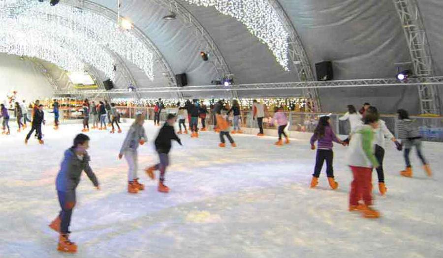 Pista de hielo navideña en Torrejón de Ardoz