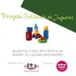 Recogida solidaria de juguetes en Madrid