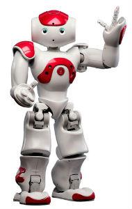 Nao es un pequeño robot que ayuda a los niños en los talleres de Juguetrónica
