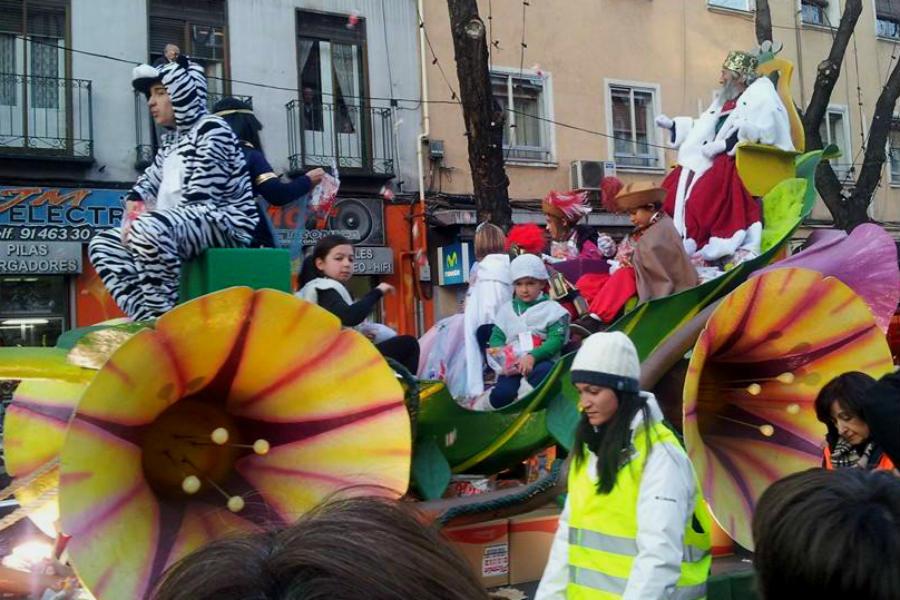 Los Reyes Magos recorren todos los rincones de España en la tarde noche del 5 de enero