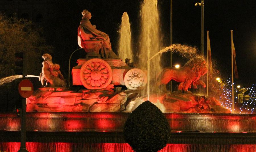 La Cibeles es uno de los momumentos más emblemáticos de Madrid