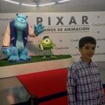 Exposición sobre la historia de Pixar