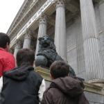 Puerta de los leones del Congreso