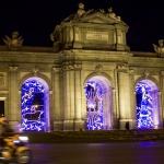 Puerta de Alcalá en Navidad
