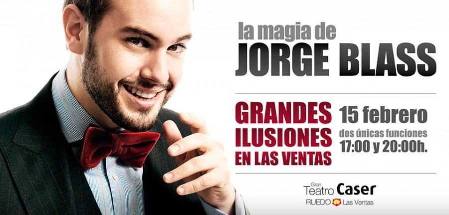 Jorge Blass presenta su espectáculo de magia Grandes Ilusiones en Madrid