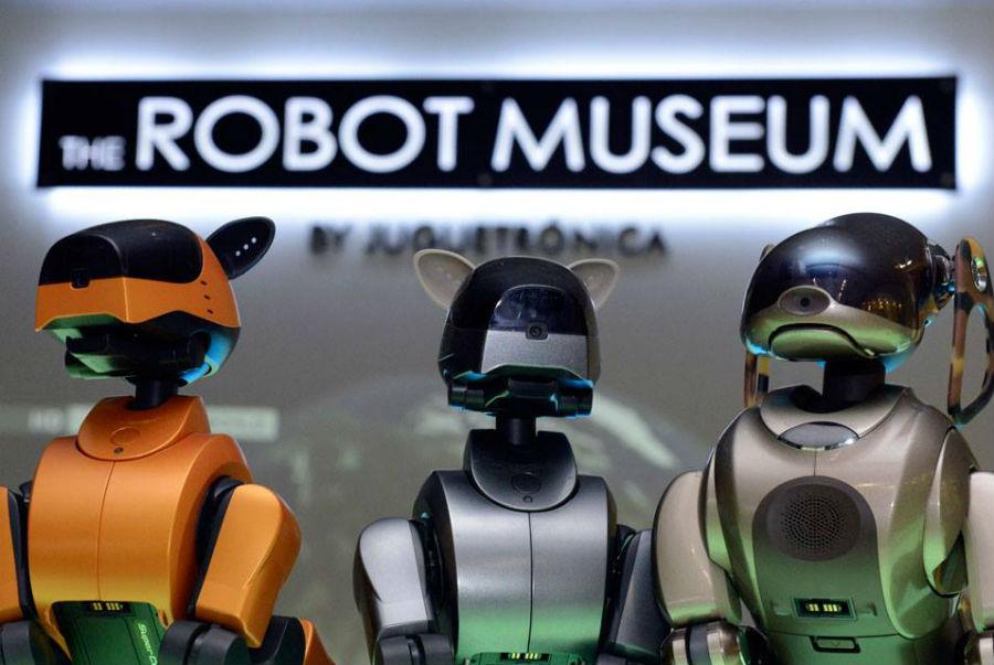 El Museo del Robot es el único dedicado a la robótica en España
