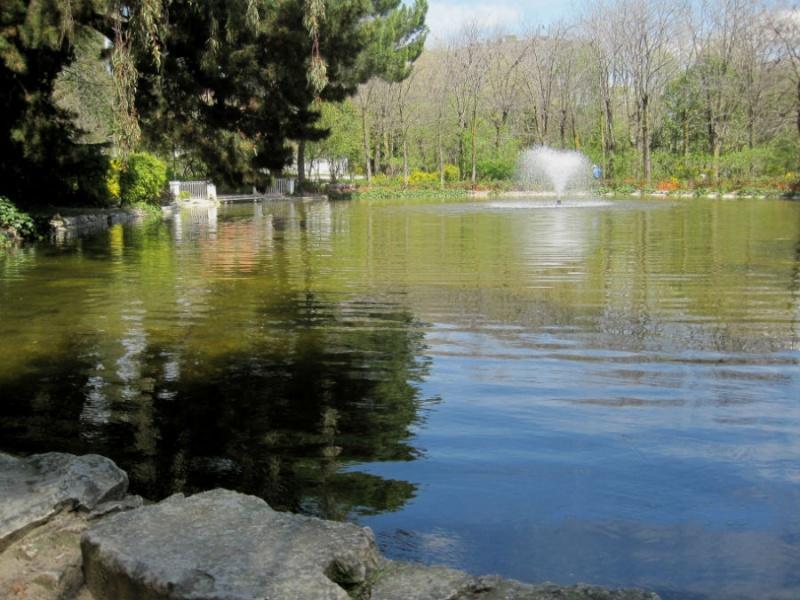 Parque Quinta de los Molinos, en Madrid