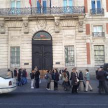 Casa de Correos, donde se encuentra el Km0 de Madrid