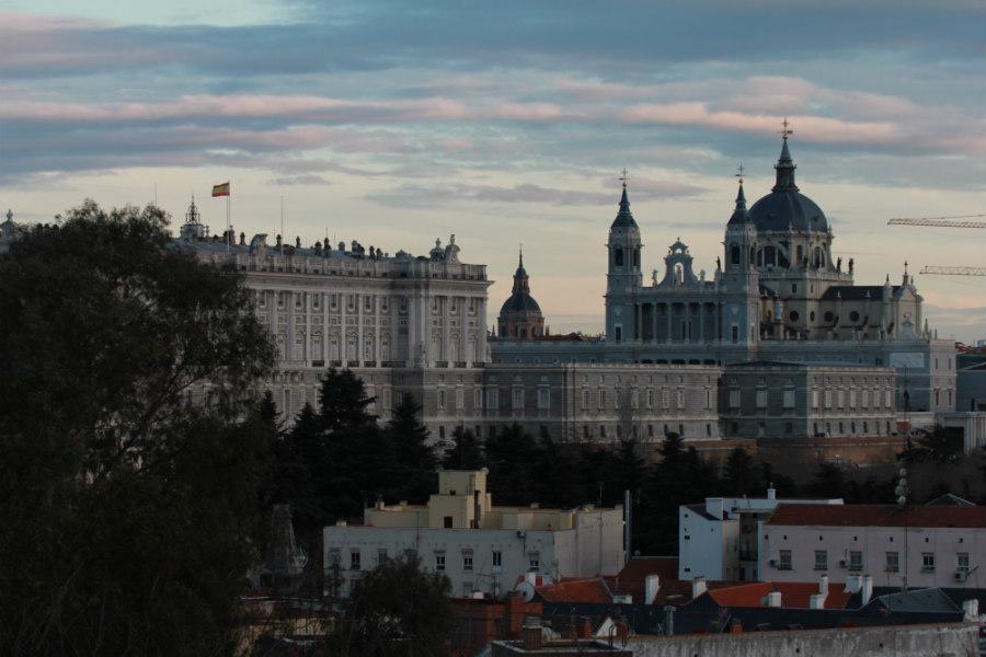 La orografía madrileña permite disfrutar de atardeceres espectaculares