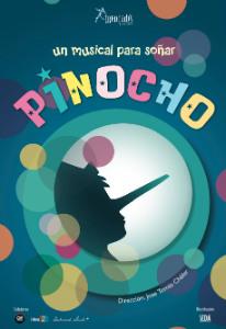Cartel de el musical infantil Pinocho