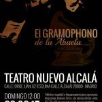 cartel gramophono abuela 2015