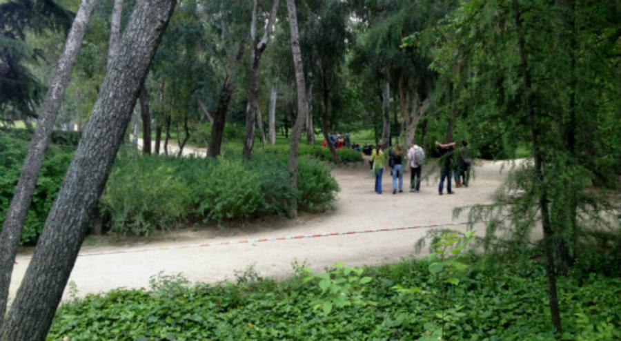 Paseo del parque Quinta de los Molinos