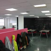 Sala de talleres de Mr. Willbe