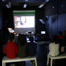 Taller de audiovisuales en Mr. Willbe