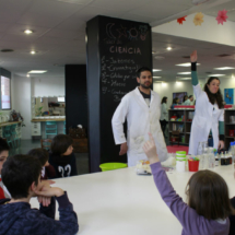 Taller de ciencia de Mr. Willbe