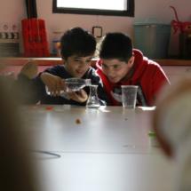 Experimentamos en el taller de ciencia de Mr. Willbe