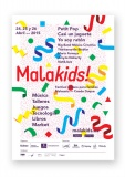 Cartel de Malakids! abril 2015