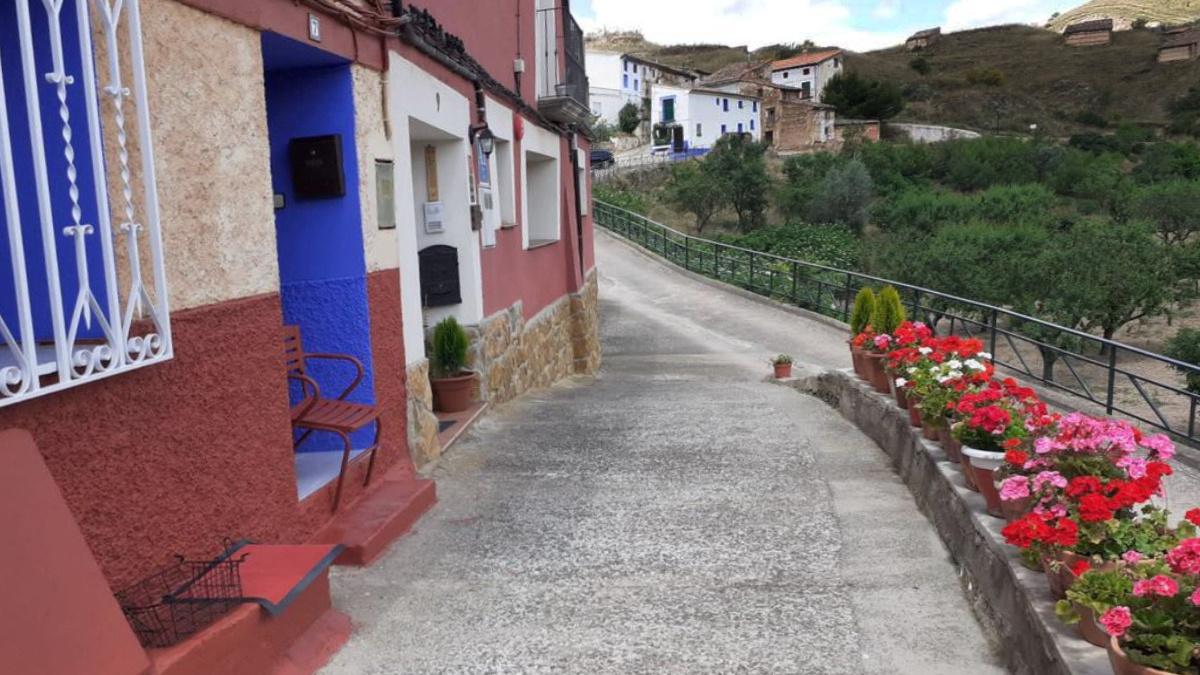 Calle de Castejón de las Armas donde se ubican los apartamentos Camino del Cid