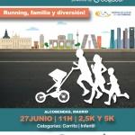 Carrera de cochecitos de bebé en Alcobendas
