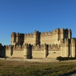 Castillo de Coca, en Segovia