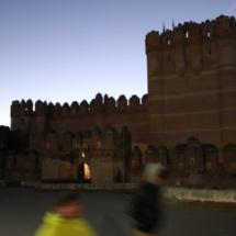 Castillo de Coca, en la provincia de Segovia