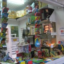 Caseta en la Feria del Libro de Madrid
