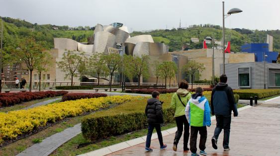 Visitamos el Guggenheim con los niños
