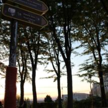 Parque de Las Vistillas, en Madrid
