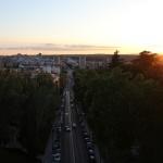 Las Vistillas, una puesta de sol en Madrid