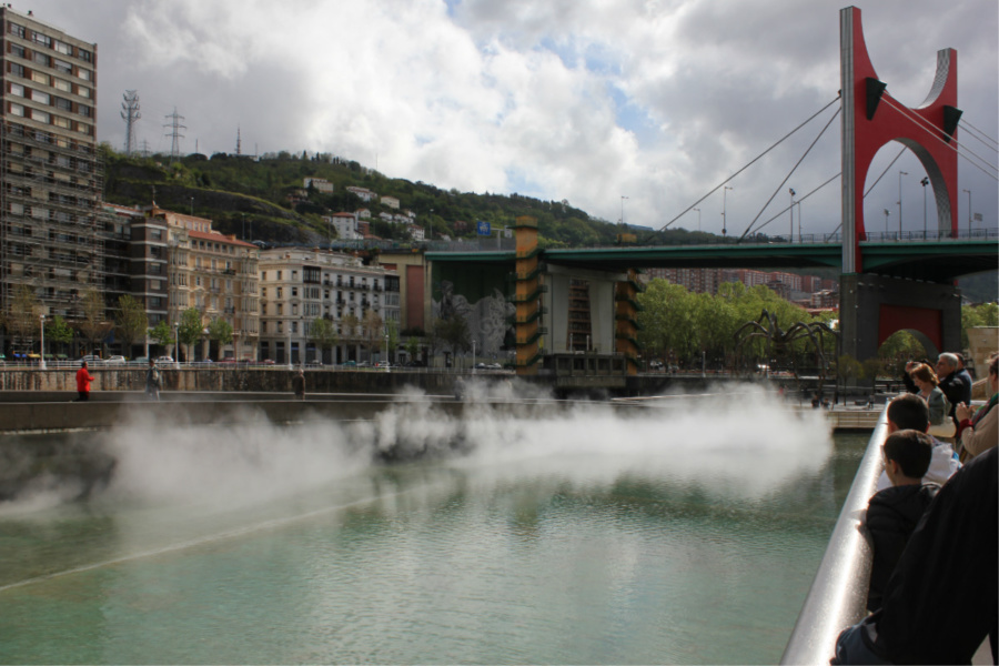 Vista de la Ría de Bilbao