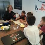 Campamento urbano de cocina en Madrid