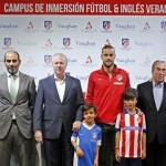 Campamento de inglés y fútbol del Atlético de Madrid