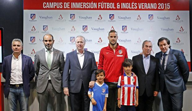Campamento de fútbol e inglés con el Atlético de Madrid y Vaughan