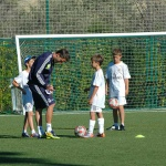 Campamentos de fútbol e inglés en el Real Madrid