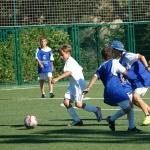 Campamentos de verano con fútbol e inglés