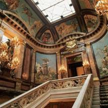 Escalera principal del Palacio de Linares