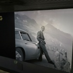 Horarios de la exposición sobre James Bond