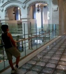 Interior del Palacio de Telecomunicaciones de Madrid, Centro Cultural Cibeles