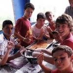 Campamento de cocina y de inglés