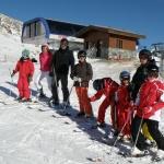 A la nieve con los niños